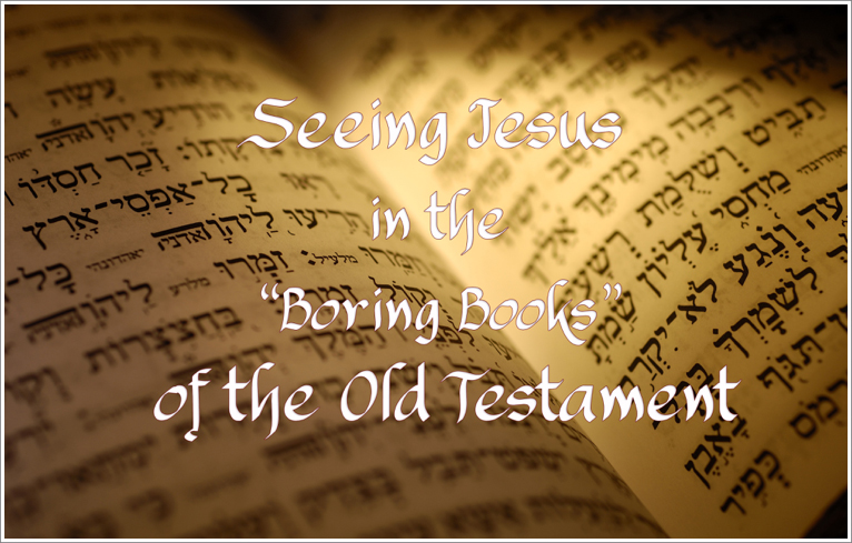 "Sermon Series - Seeing Jesus in the ""Boring Books"" of the Old Testament"